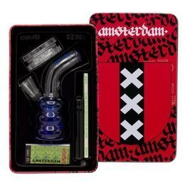 Bongo Box Ginder papers filters Amsterdam | 12cm Blue