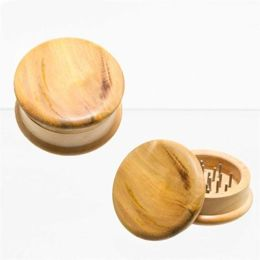 Grinder Wooden Smooth 2-pieces Ø:5cm