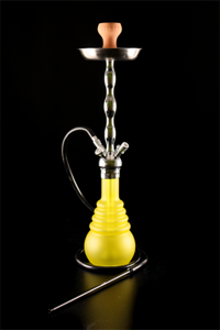 Hookah El Keyif PNX660 Yellow Neon Chrome 74cm