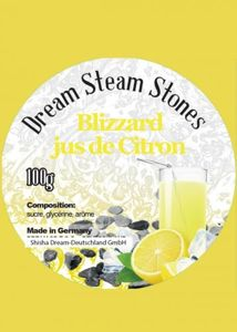 Hookah Stones Dream Blizzard jus de Citron 100g
