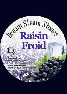 Hookah Stones Dream Raisin Froid 100g