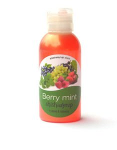 Hookah syrup Shishasyrup Berry Mint 100ml