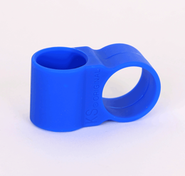 Hose holder silicone KS FIX Blue