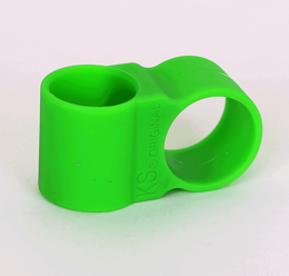 Hose holder silicone green