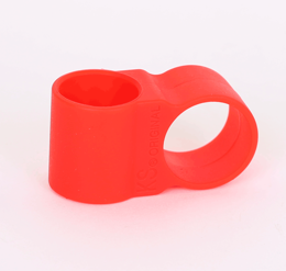 Hose holder silicone red