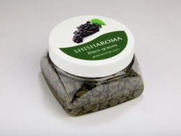 SHISHAROMA VAPOR STONES GRAPES BLACK 120G