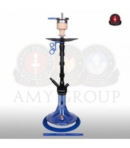 Water pipe AMY ALU Lima Blue 80cm
