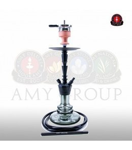 Water pipe AMY ALU-X S Black 65cm