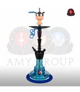 Water pipe AMY ALU-X S Blue 65cm