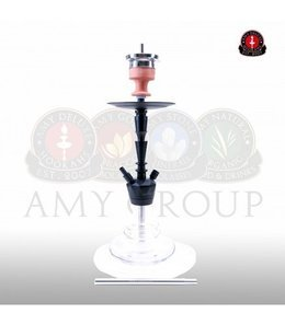 Water pipe AMY ALU-X S Clear 65cm