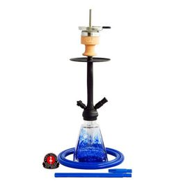 Water pipe AMY I Need You Black Blue 60cm