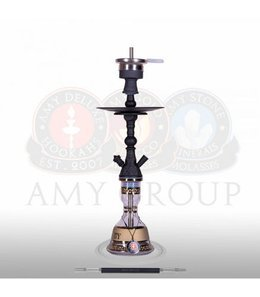 Water pipe AMY Mini Harfi Black 48,5cm