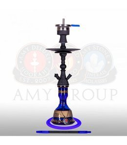 Water pipe AMY Mini Harfi Black Blue 48,5cm