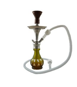 Water pipe Aladin LB501 brown 42cm