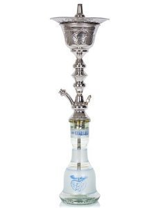 Water pipe Khalil Mamoon Ice Pot Trimetal 74cm