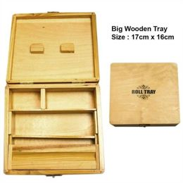 Wooden Tray Roll Tray roz. L