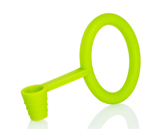 Hose gasket and holder silicone KS Tongo green