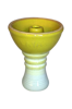 Shisha bowl Phunnel Kaya D569 yellow