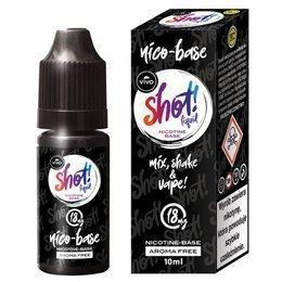 E-liquid VIVO Shot NicoBase 18mg 10ml