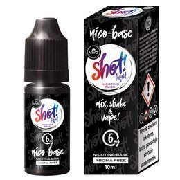 E-liquid VIVO Shot - NicoBase 6mg 10ml